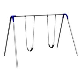 Bipod Swing Set w/ Two Strap Seats