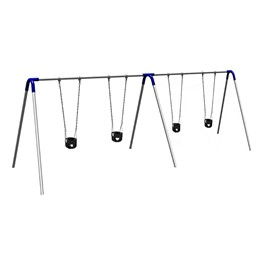 Bipod Swing Set w/ Four Toddler Seats
