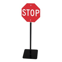 Trike Path Traffic Sign - Stop
