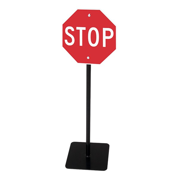 Trike Path Traffic Sign - Stop Sign