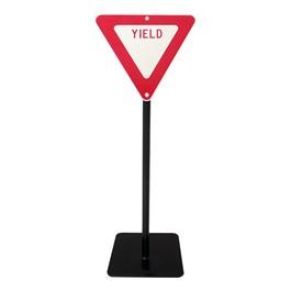 Trike Path Traffic Sign - Yield