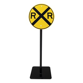 Trike Path Traffic Sign - Railroad Crossing