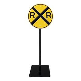 Trike Path Traffic Sign - Railroad Crossing