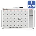 Dry Erase Calendar - Package of Three