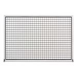 Grid-Lined Whiteboard w/ Aluminum Frame