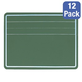 Penmanship Chalkboard Lapboard - Shown w/ one set of ledger lines