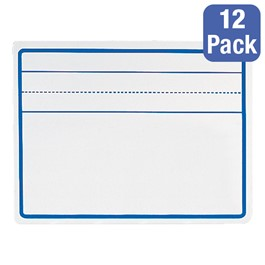 Penmanship Dry Erase Lapboard<br>Shown w/ one set of ledger lines