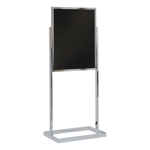 Black Dry Erase Pedestal Board