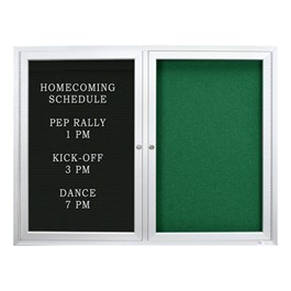 Outdoor Enclosed Combo Board