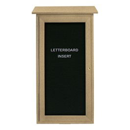 "Mini Letterboard Outdoor Message Center (16"" W x 34\"" H)"