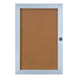 Elevator Enclosed Bulletin Board