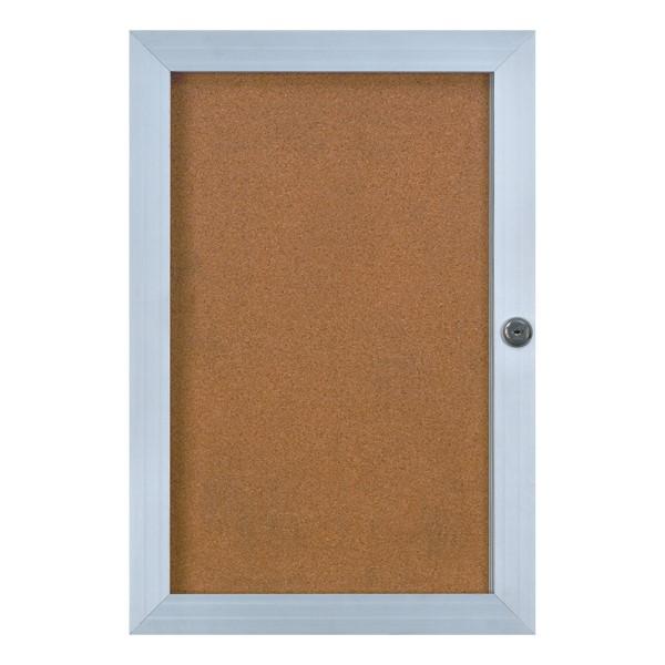 Elevator Enclosed Bulletin Board
