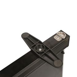 Illuminated Edge Lit Board - Stand detail