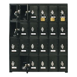 Cell Phone Lockers - 24 Lockers<br>Locks not included