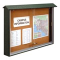Sliding Door Corkboard Message Center