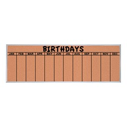 Birthday Corkboard
