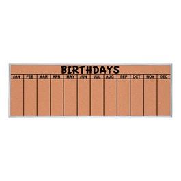 Birthday Corkboard
