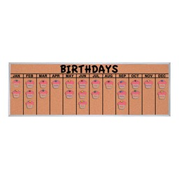 Birthday Corkboard - accessories not included