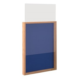 Drop-In Shadow Box - Front panel slides in easily