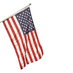 Government-Specified Nylon U.S. Flag (pole not included)