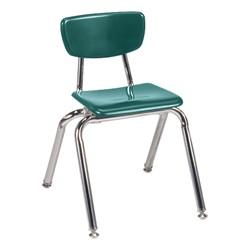 3000 Series Solid Plastic School Chair - 14\