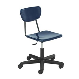 Mobile Teacher Task Chair - Navy