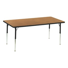 """Rectangle 4000 Series Classroom Activity Table (60\"""" W x 30\"""" D)"""