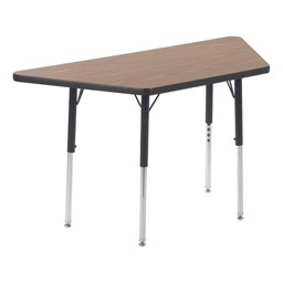 """Trapezoid 4000 Series Classroom Activity Table (48"""" W x 24"""" D)"""