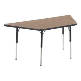 "Trapezoid 4000 Series Classroom Activity Table (60"" W x 30\"" D)"