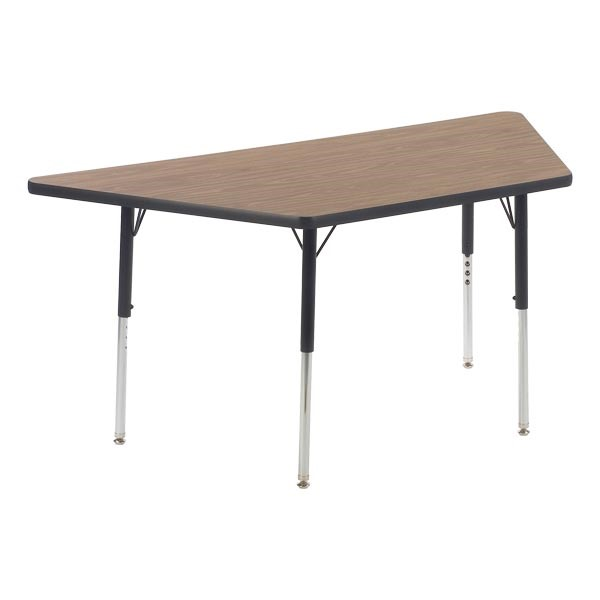 "Trapezoid 4000 Series Classroom Activity Table (60"" W x 30"" D)"