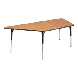 "Trapezoid 4000 Classroom Series Activity Table (42"" x 84\"")"