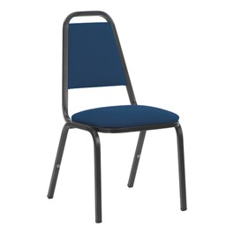 8926 Banquet Chair - Fabric Upholstered Seat - Sailor Sedona fabric w/ Black frame