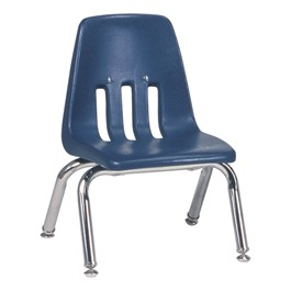 "9000 Series School Chair (10"" Seat Height) - Navy"