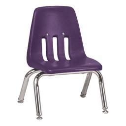 "9000 Series School Chair - 10"" Seat Height - Purple Iris"