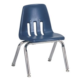 "9000 Series School Chair (12"" Seat Height) - Navy"