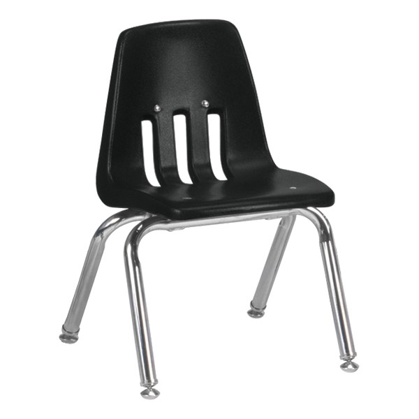 "9000 Series School Chair (12"" Seat Height) - Black"