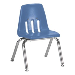"9000 Series School Chair - 12"" Seat Height - Blueberry"
