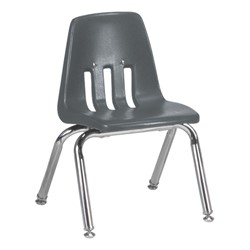 "9000 Series School Chair - 12"" Seat Height - Graphite"