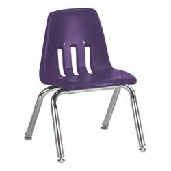 "9000 Series School Chair - 12"" Seat Height - Purple Iris"