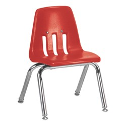 "9000 Series School Chair - 12"" Seat Height - Red"