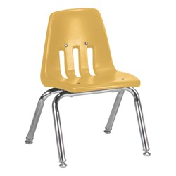 "9000 Series School Chair - 12"" Seat Height - Squash"