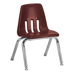 "9000 Series School Chair - 12"" Seat Height - Wine"