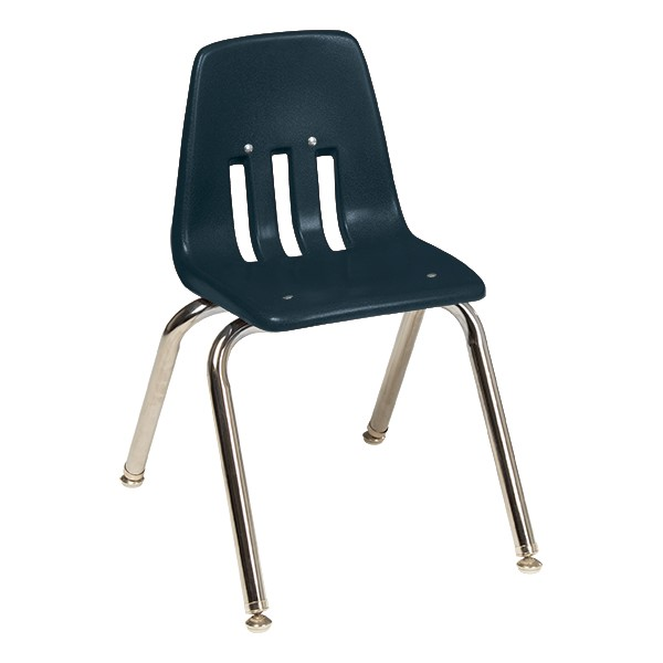 "9000 Series School Chair (14"" Seat Height) - Navy"