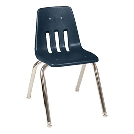 "9000 Series School Chair - 16"" Seat Height - Navy"