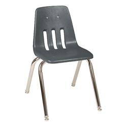 "9000 Series School Chair - 16"" Seat Height - Graphite"