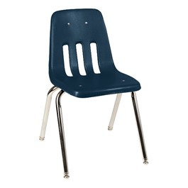 "9000 Series School Chair (18"" Seat Height) - Navy"