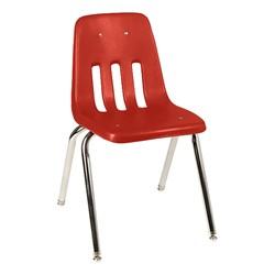 9000 Series School Chair - Red