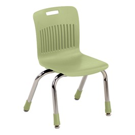 "Analogy Series Ergonomic School Chair (12"" Seat Height) - Apple"