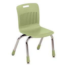 "Analogy Series Ergonomic School Chair (12\"" Seat Height) - Apple"