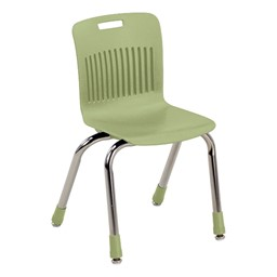 "Analogy Series Ergonomic School Chair (14"" Seat Height) - Apple"